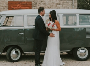 Boho and rustic style of wedding videography